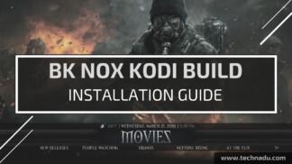 BK Nox Kodi Build - Feature Image