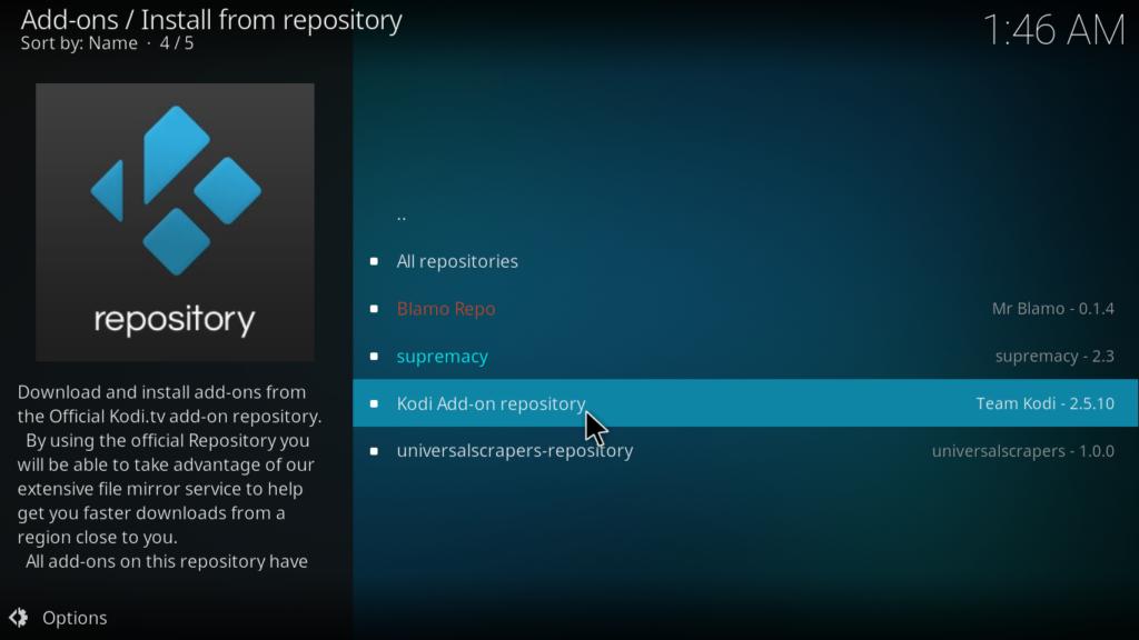 Crackle Kodi Addon - Kodi Addon Repository
