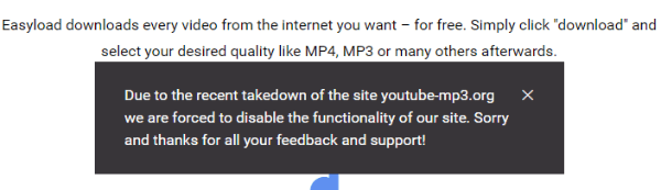 YouTube Video and MP3 Download Websites Succumb to Legal Threats