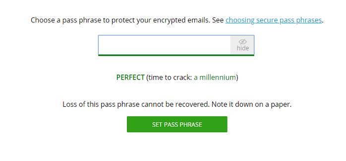 Flowcrypt Password
