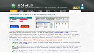 Hide ALL IP VPN Homepage