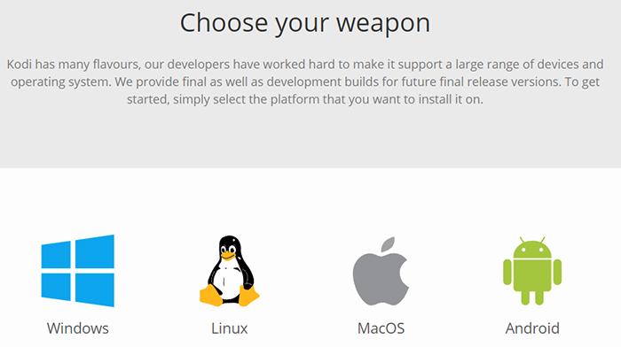 Kodi Platforms