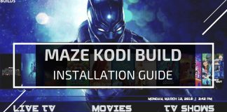Maze Kodi Build