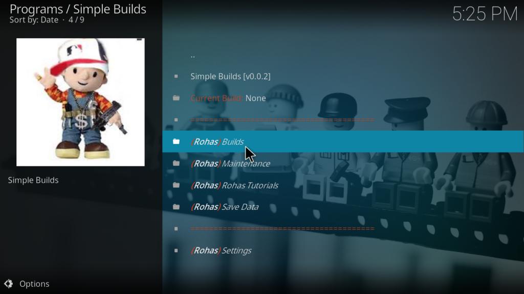Nova Kodi Build - Builds