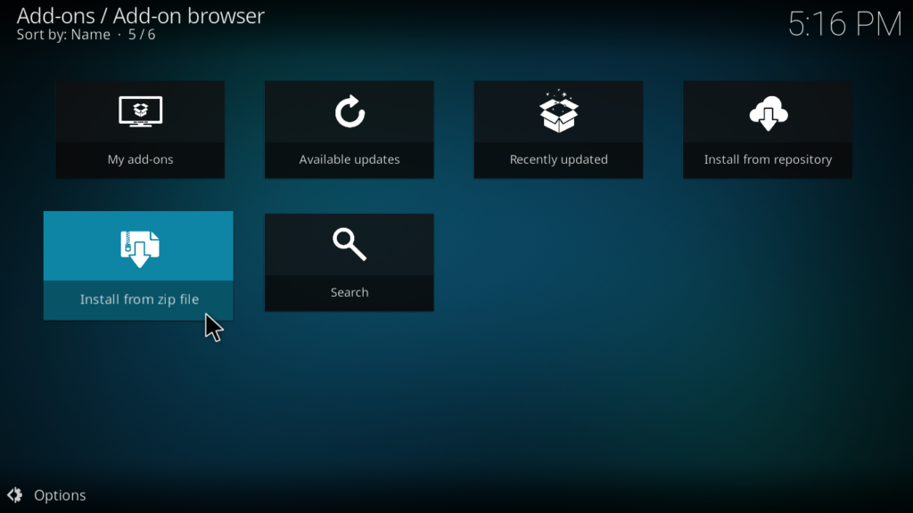 Nova Kodi Build - Install from Zip