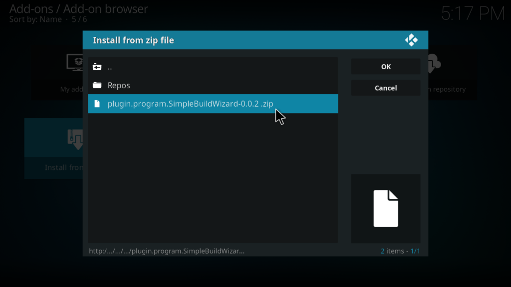 Nova Kodi Build - Zip File