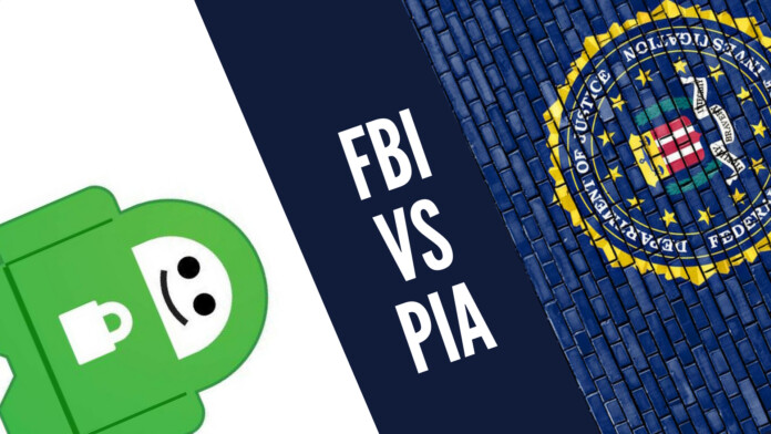 Private Internet Access VS FBI