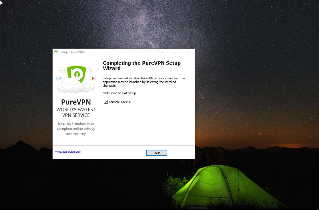 PureVPN Install 8