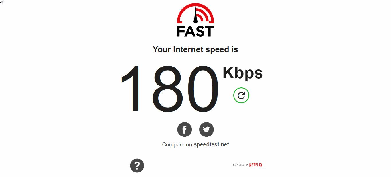 PureVPN Speed Test Non US Server