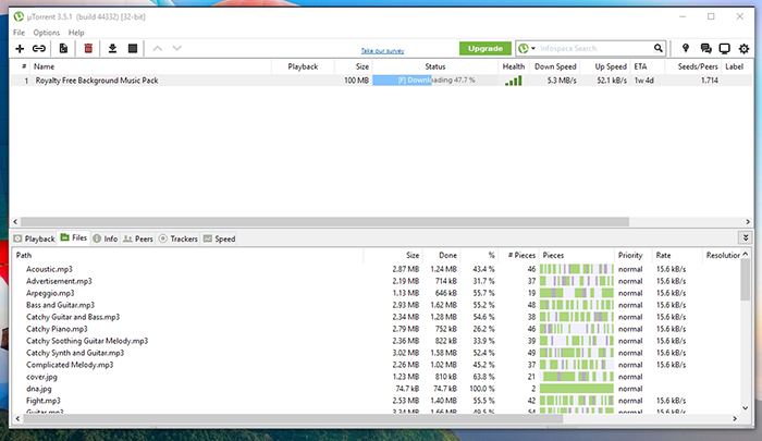 uTorrent Music Download