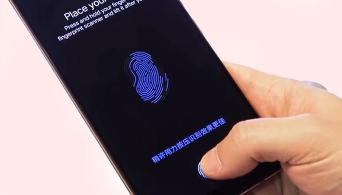 vivo x21 fingerprint