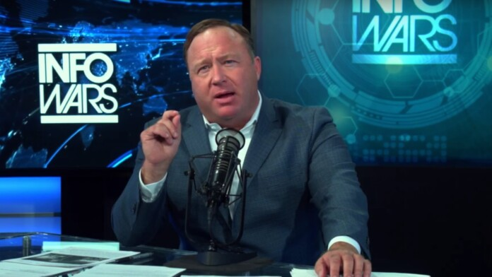 Alex Jones Streams on Another Channel — YouTube's Ban Ineffective