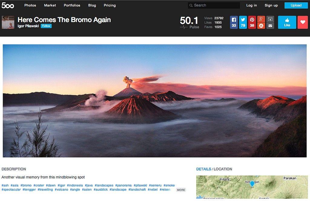 Flickr Alternatives - 500px