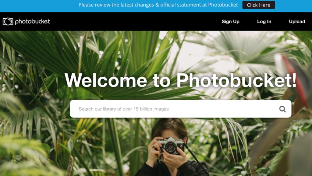Flickr Alternatives - Photobucket