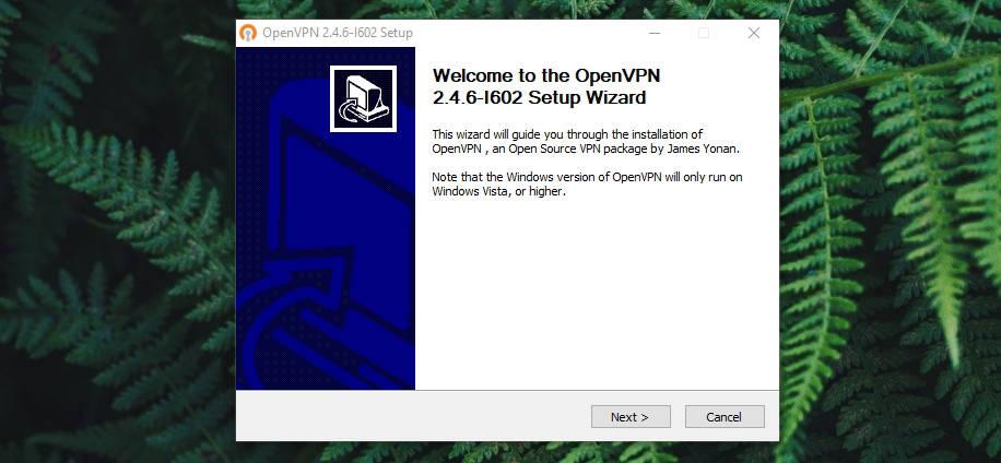 OpenVPN on Windows