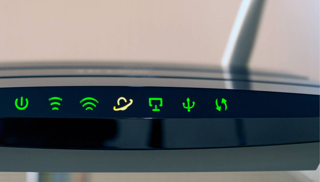 Router Icon Sign