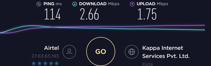 Unblockus VPN Speed Test VPN On