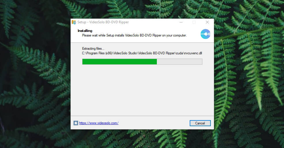 VideoSolo BD-DVD Ripper Installation Process