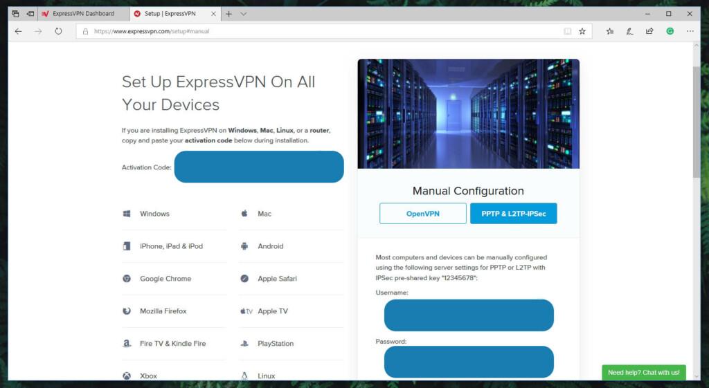 Windows VPN Manual Configuration