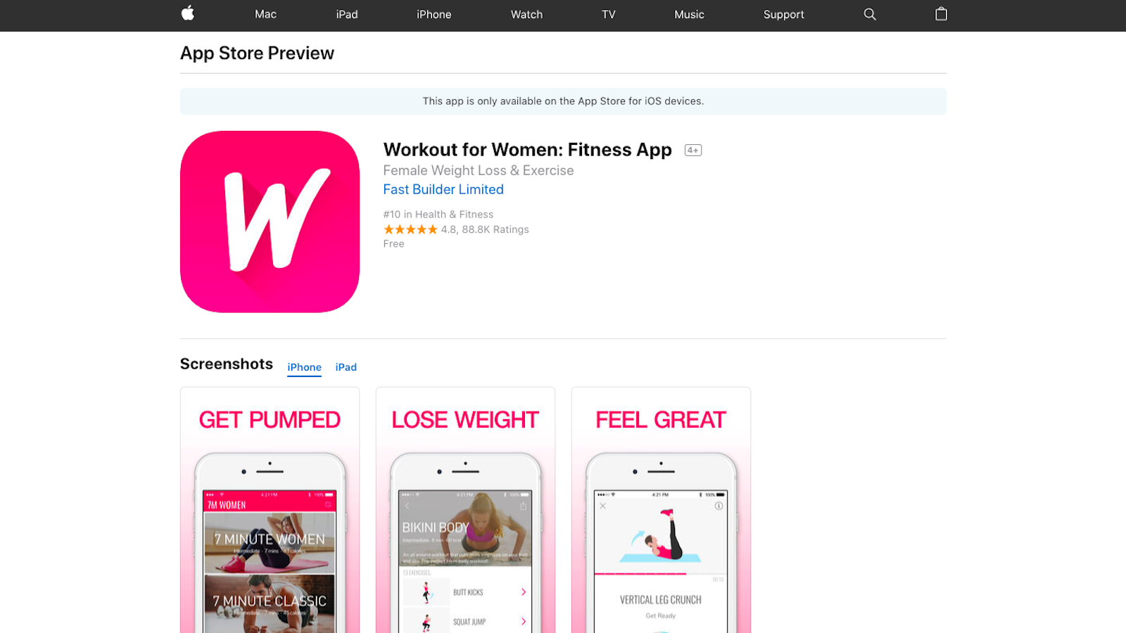 Best-Fitness-Apps-of-2018-Workout-for-Women