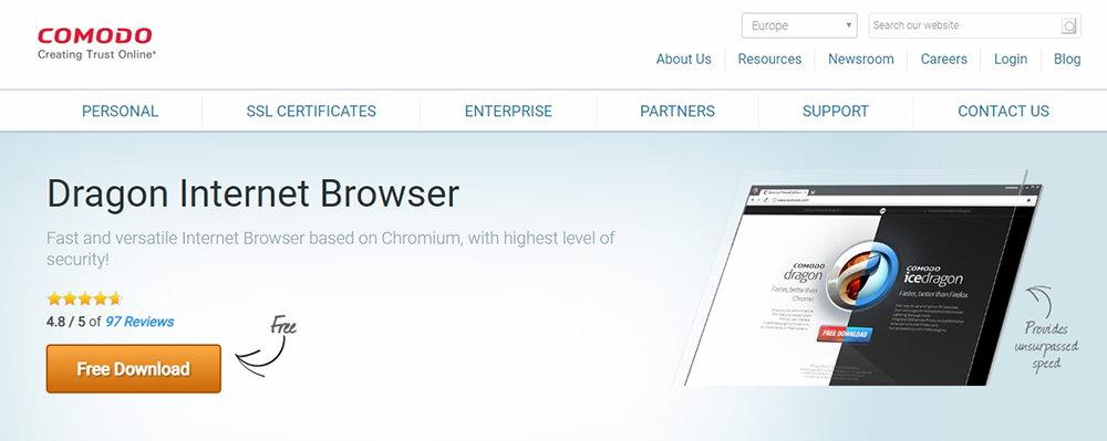 Comodo Internet Browser