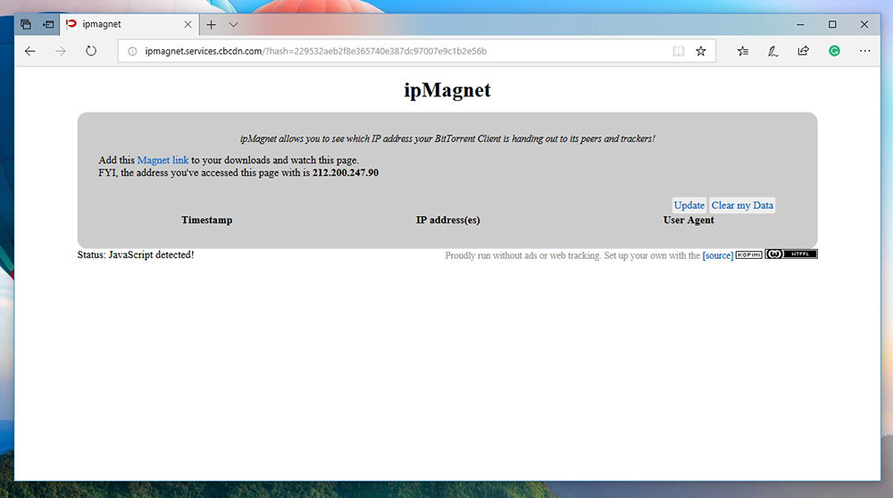 IPMagnet Website