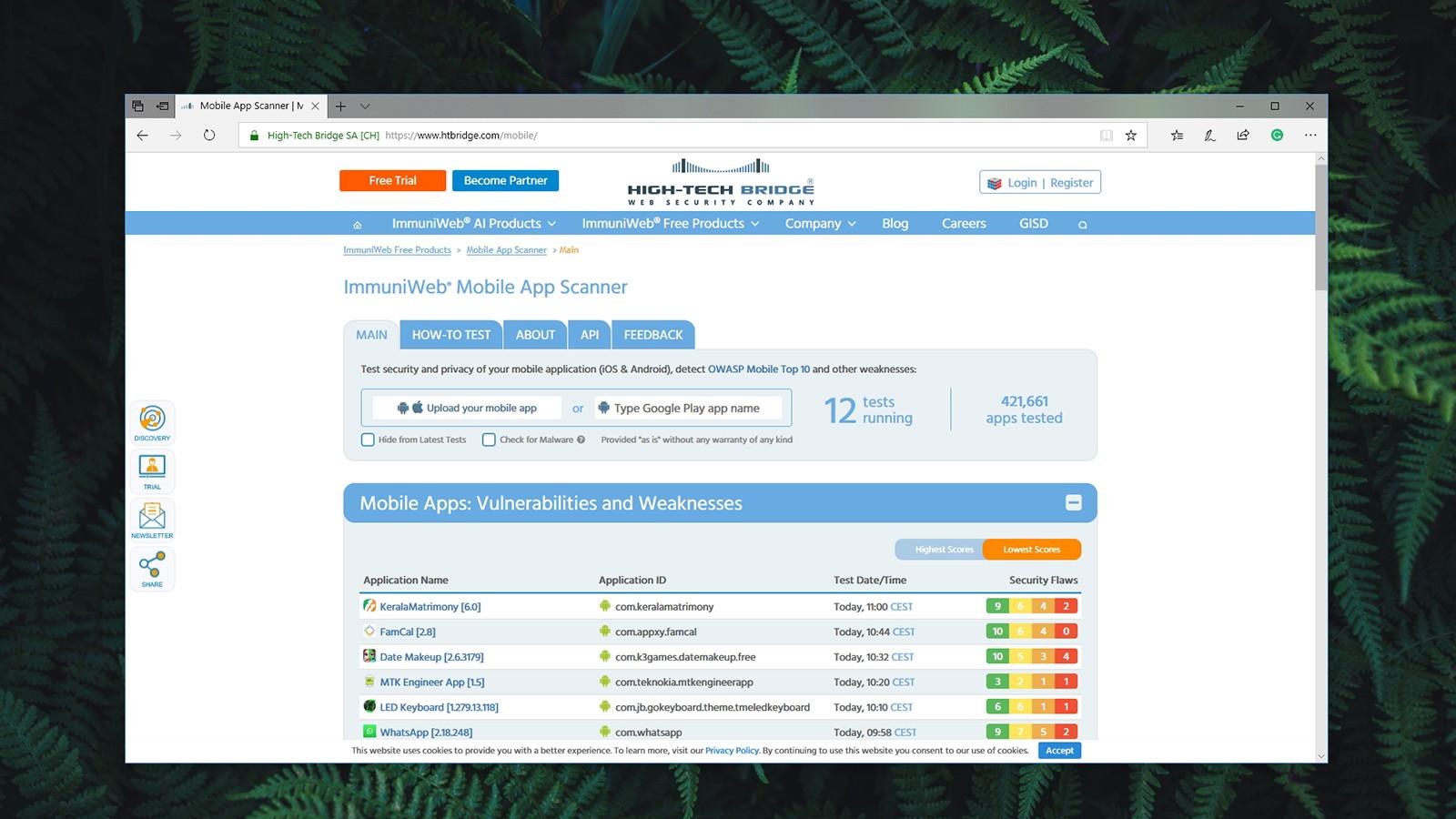 ImmuniWeb Mobile App Scanner Review - TechNadu com