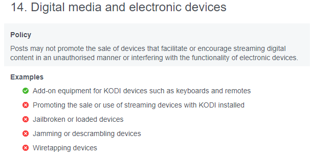 Kodi Box and Cracked Streaming Player Sales Banned on Facebook