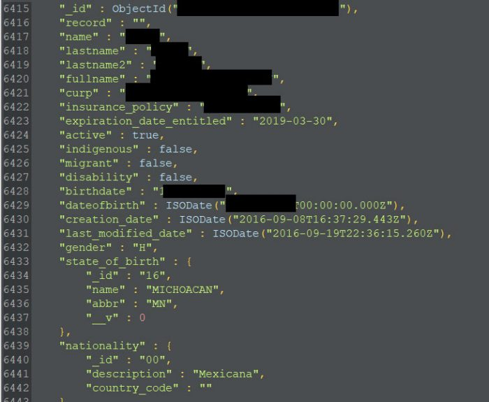 Mexico Healthcare Data Breach
