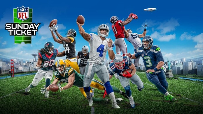 NFL Sunday Ticket Access Now Available on DirecTV Now