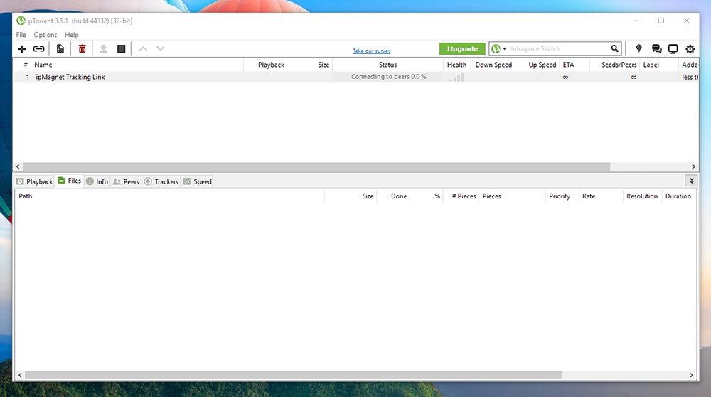 uTorrent IP Tracking