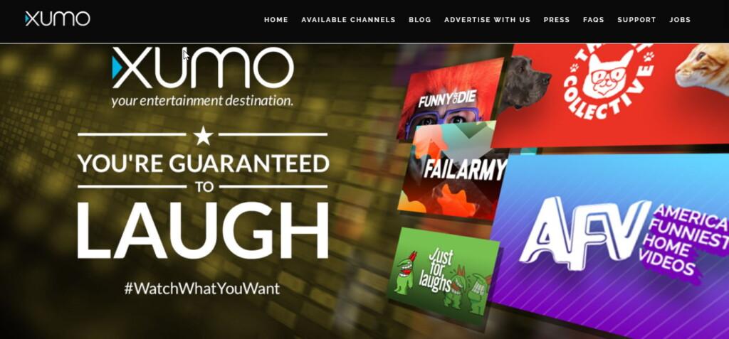 XUMO site