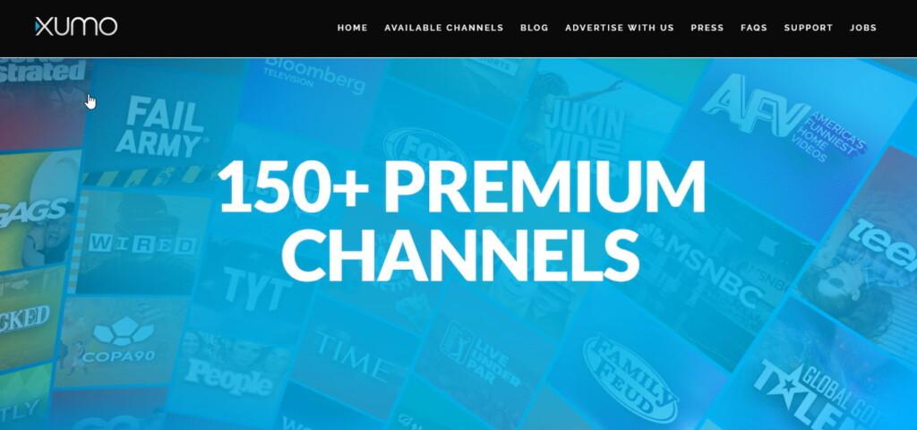 XUMO channels