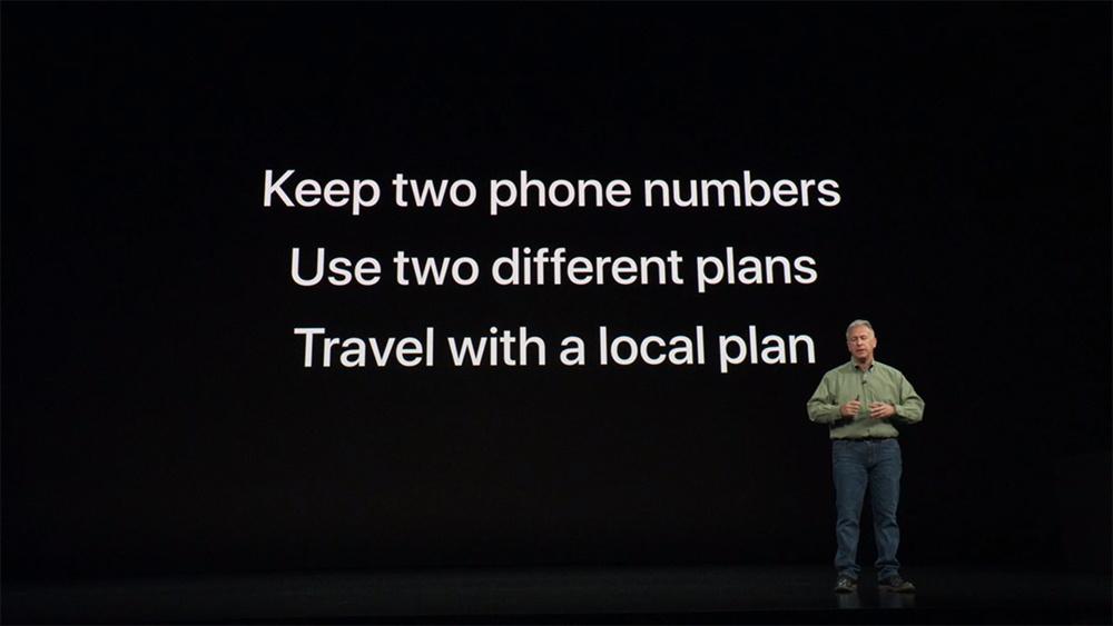 Dual SIM iPhone 2018