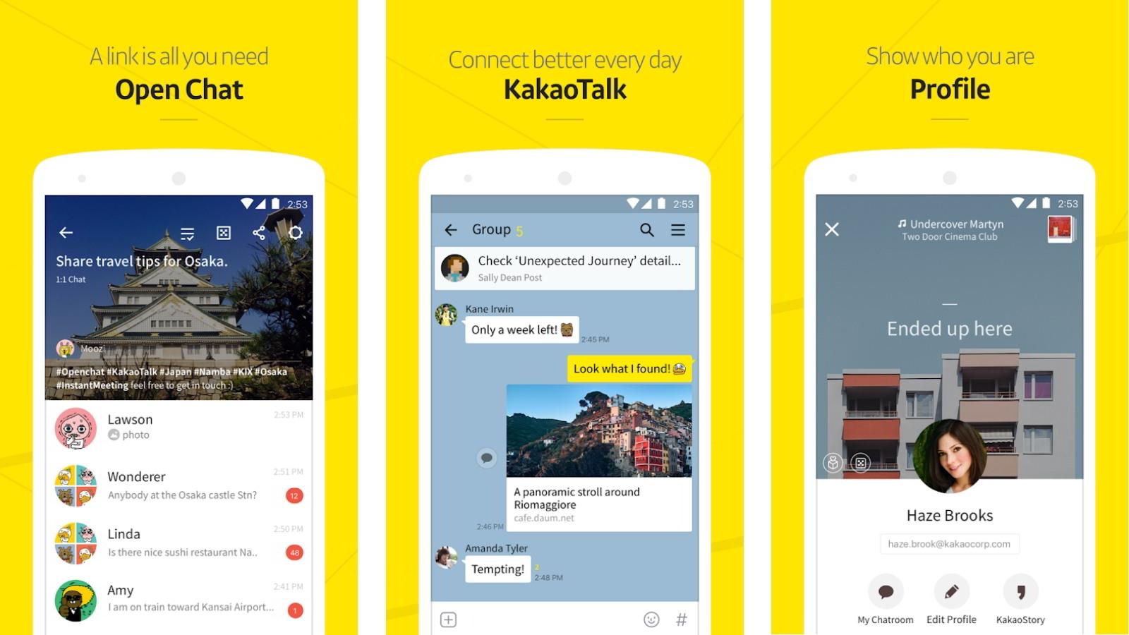 KakaoTalk Best Encrypted Messaging Apps