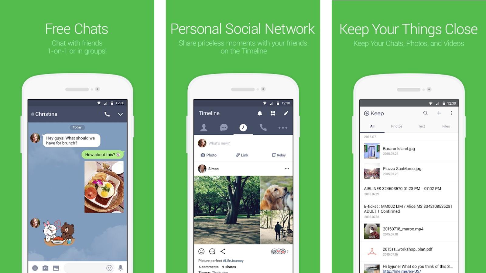 Line Best Encrypted Messaging Apps