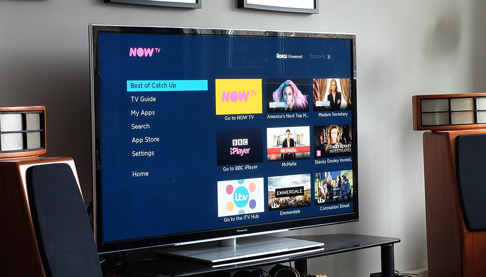 Now TV Interface