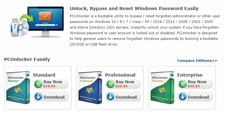 PCUnlocker Review - The Best Way to Restore Your Windows