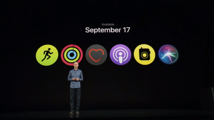 WatchOS 5 Scheduled to Come to All Apple Watches on September 17