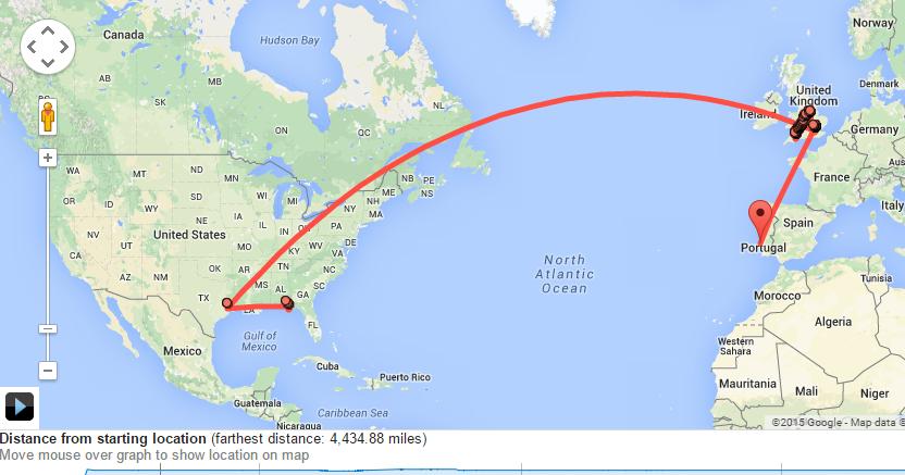google maps timeline history