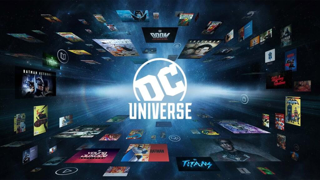 DC Universe launch, via DC Universe
