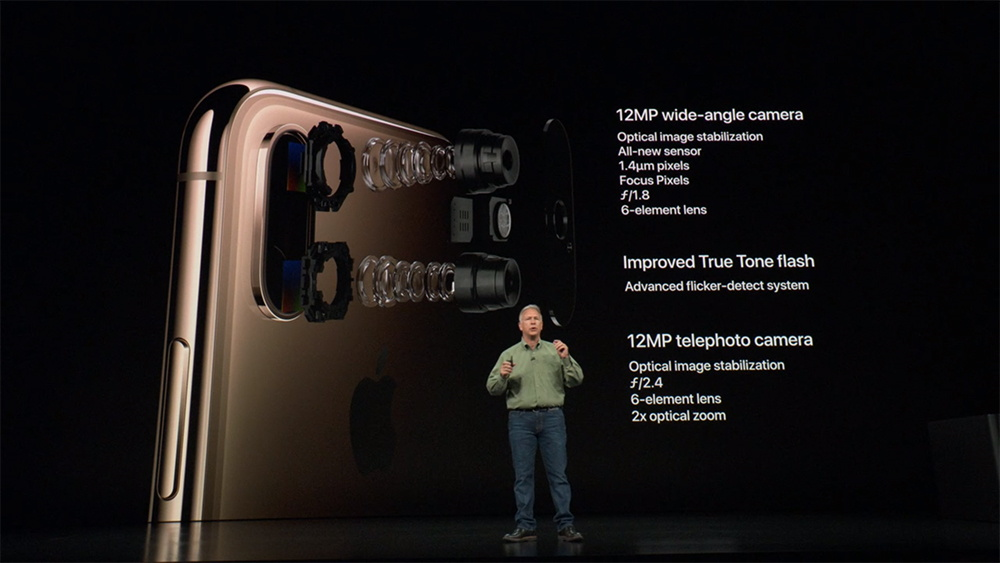 iPhone XS Camera Specs