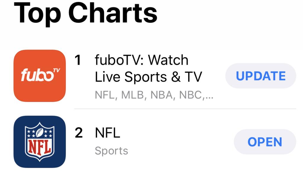 App store ranking