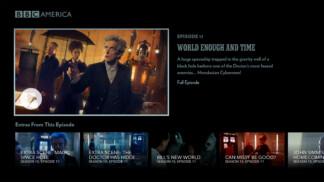 BBC America UI