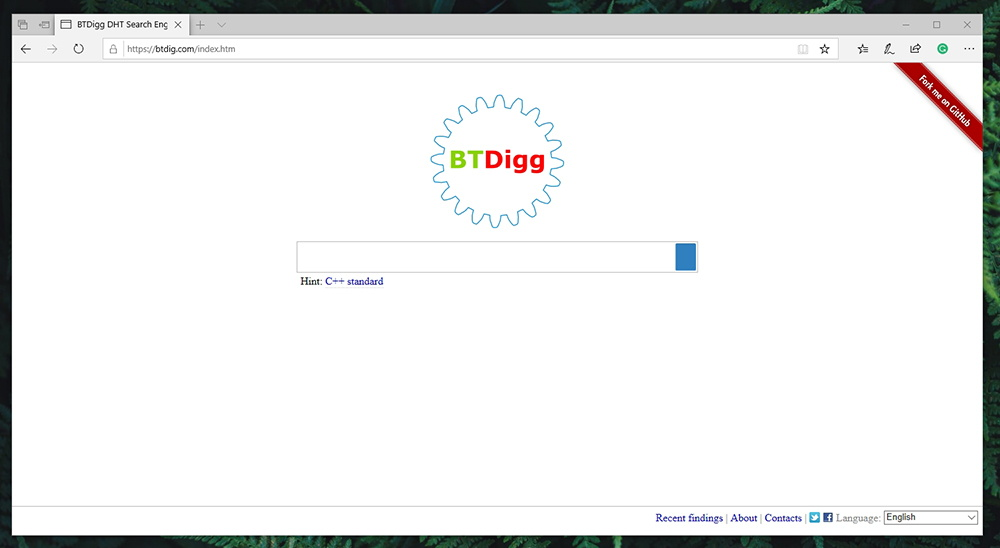 BTDigg Torrent Search Engine