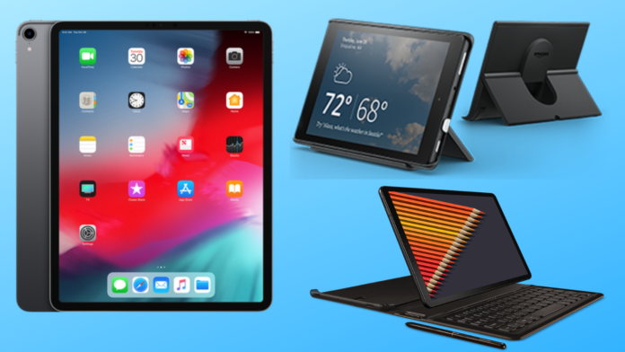 The Best Tablets to Buy in 2018