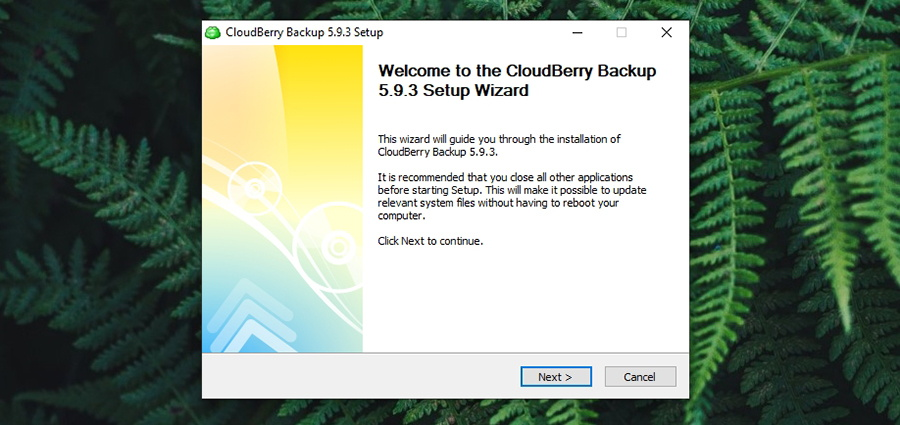 CloudBerry Backup - Installation