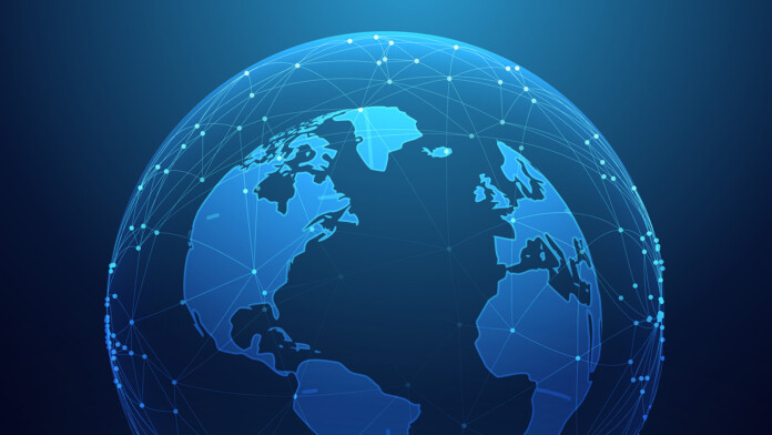 Digital Planet Illustration