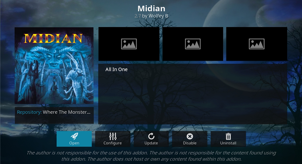 Midian Kodi Addon - New Icon