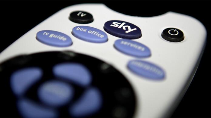 Sky TV Box Remote